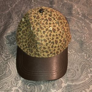Leopard Adjustable Hat from Maurice's